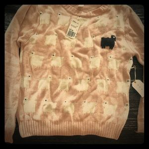 """Forever 21 """"black sheep"""" sweater"""